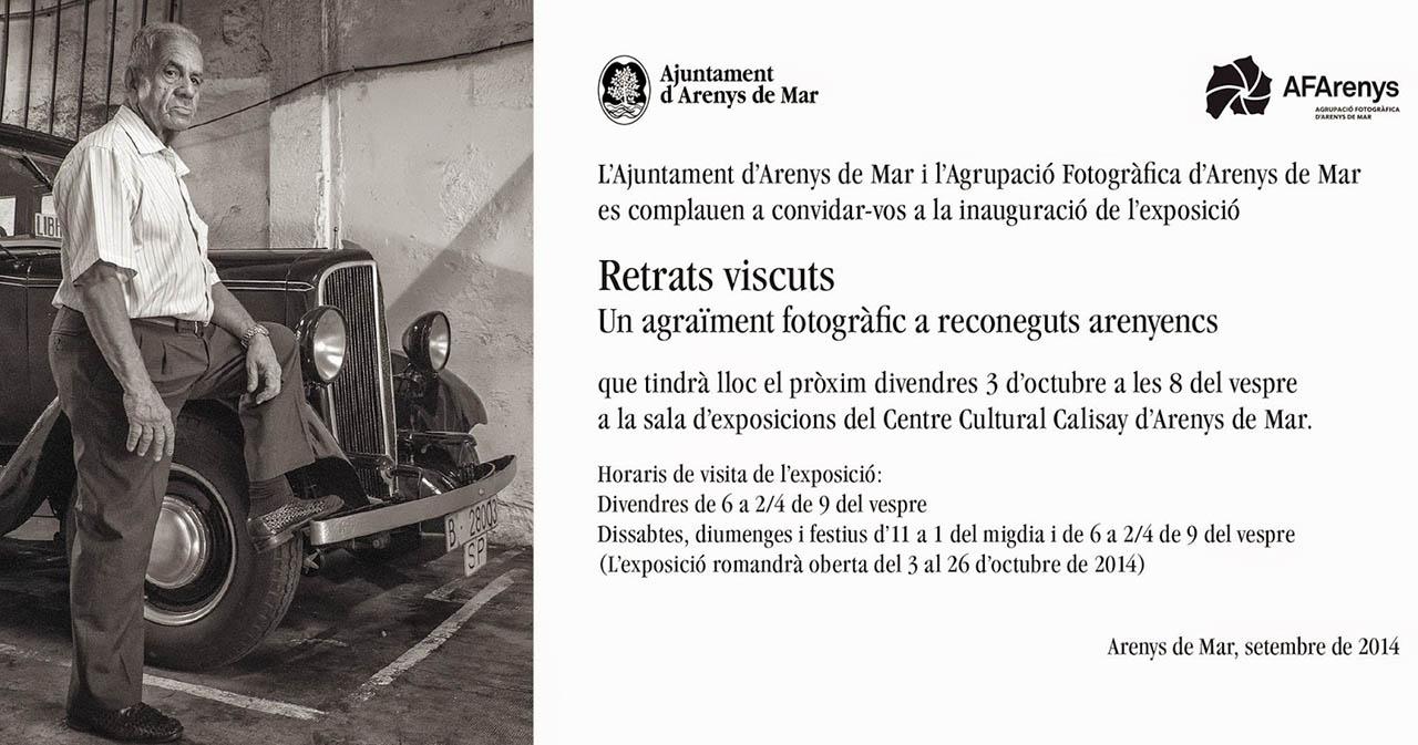 Exposició Retrats Viscuts al Calisay