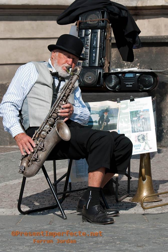 Músic de carrer