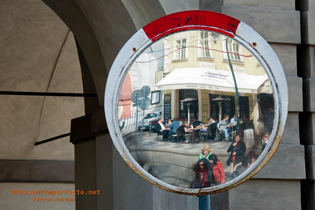 A Prague café