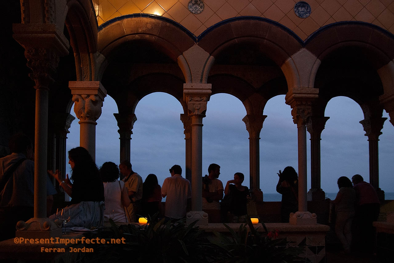 Reception at dusk