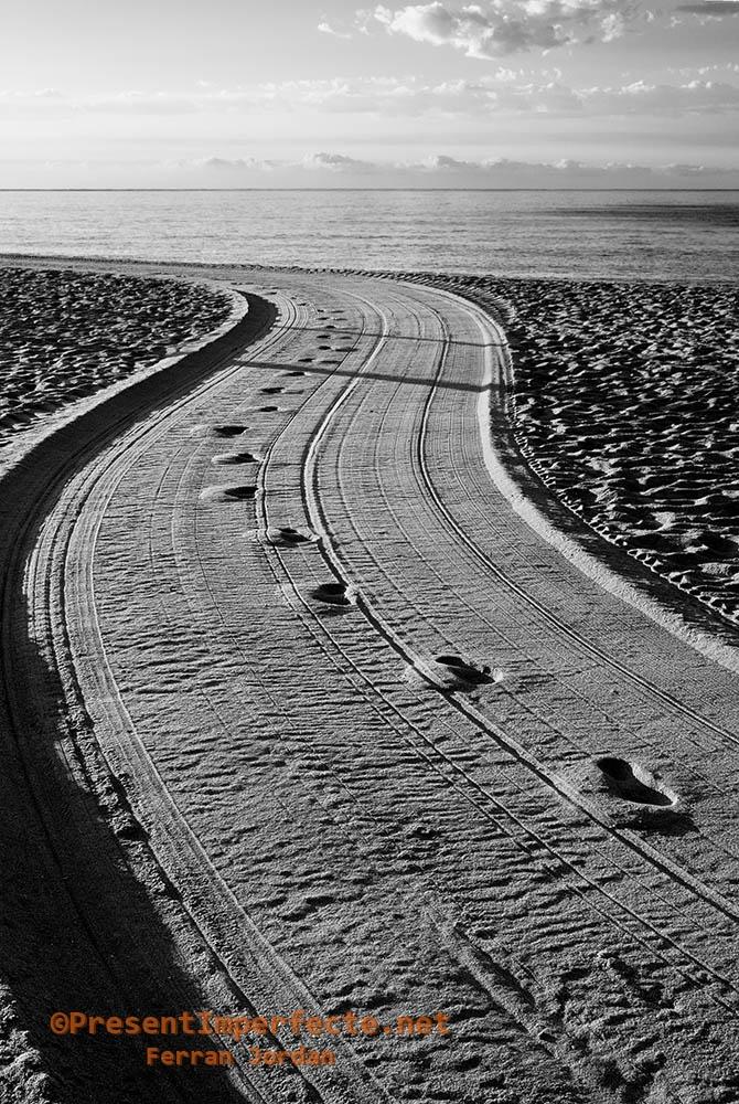 Caminos de arena