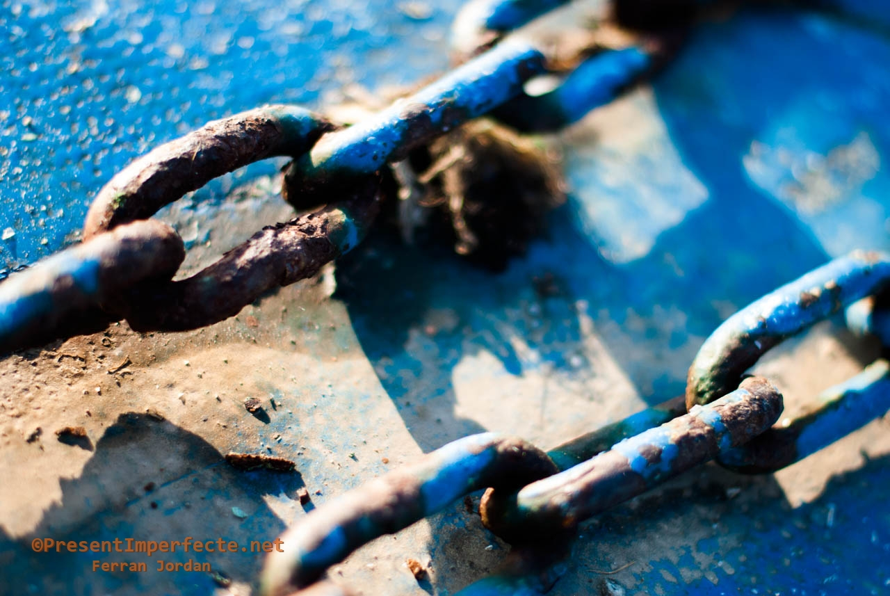 Chained blue