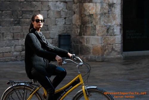 Sightseeing Barcelona by bike